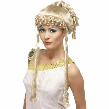 Aphrodite pruik blond