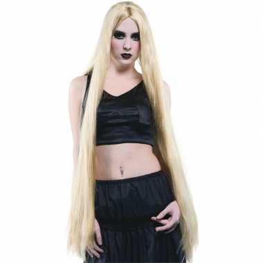 Lange blonde pruiken