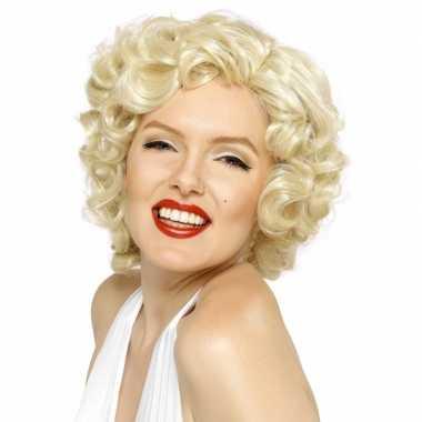 Marilyn monroe verkleed pruik