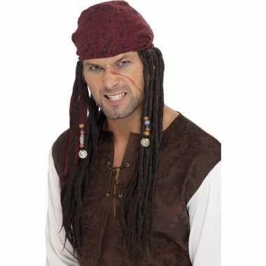 Piraten pruiken sparrow