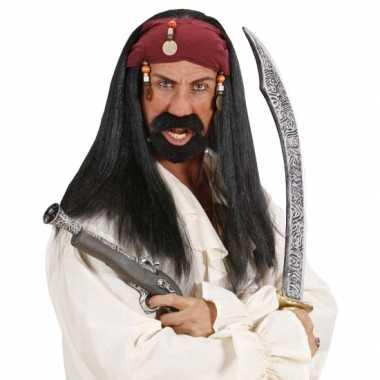 Piraten pruiken voor mannen