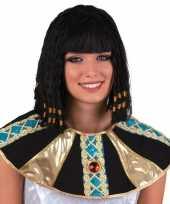 1001 nacht damespruik cleopatra zwart