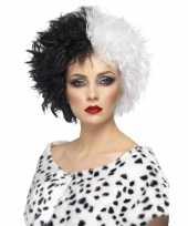 Cruella pruik voor dames