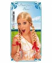 Heidi blonde dames pruik
